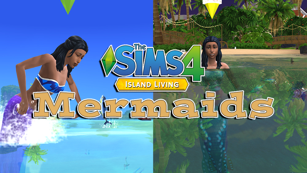 The Sims 4 Mermaids