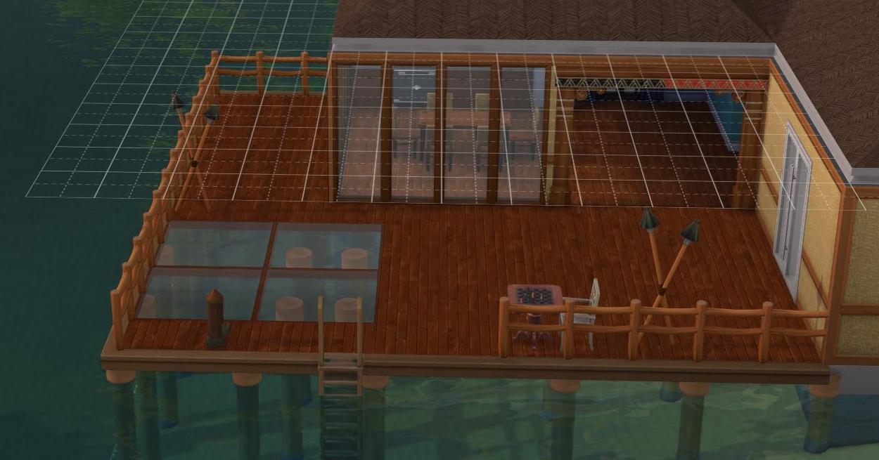 Though there are many new features in The Sims 4 Island Living, stilt foundations is not one of them - it was given to all players in a patch just before the Expansion launched.