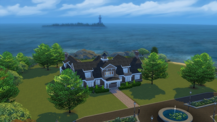 Brindleton Bay in Sims 4