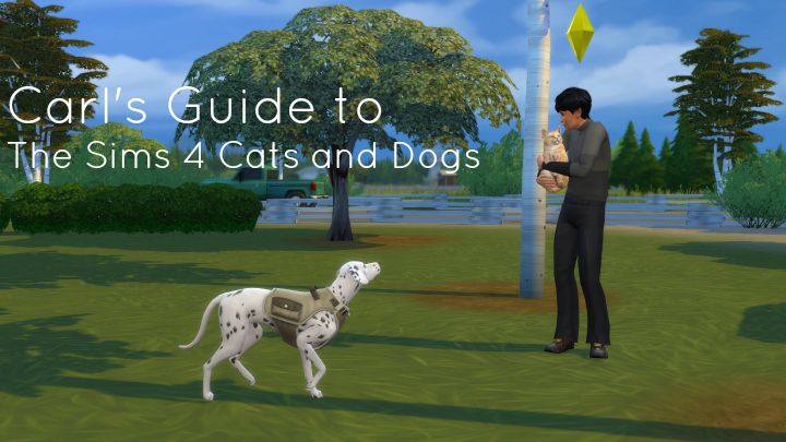 Guide to the Sims 4 Pets - Cats and Dogs Expansion