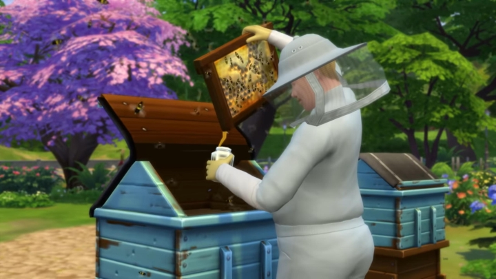 The Sims 4 Seasons: Sims can be a beekeper