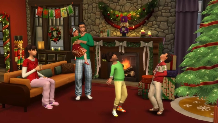 The Sims 4 Seasons: Christmas and other holidays are in the expansion