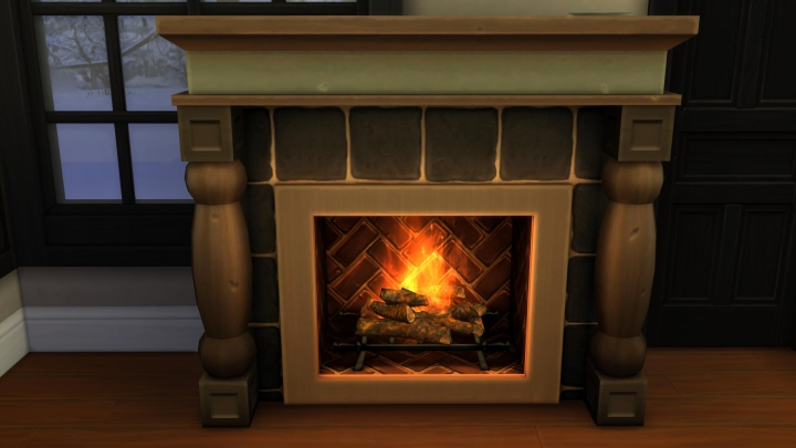 The Sims 4 Seasons: You must have a Fireplace for Father Winter to arrive