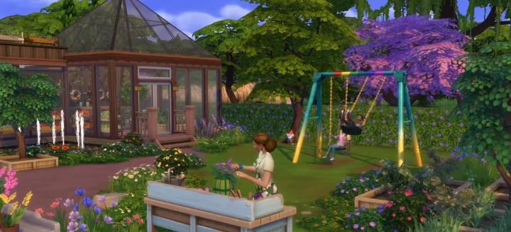 The Sims 4 Seasons: Gardening Career
