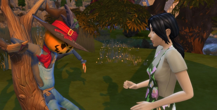 bd87eb900 Sims 4 Seasons  Patchy the Straw Man (Scarecrow)