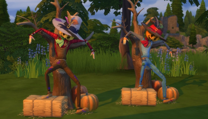 Sims 4 Seasons: Patchy the Straw Man (Scarecrow)