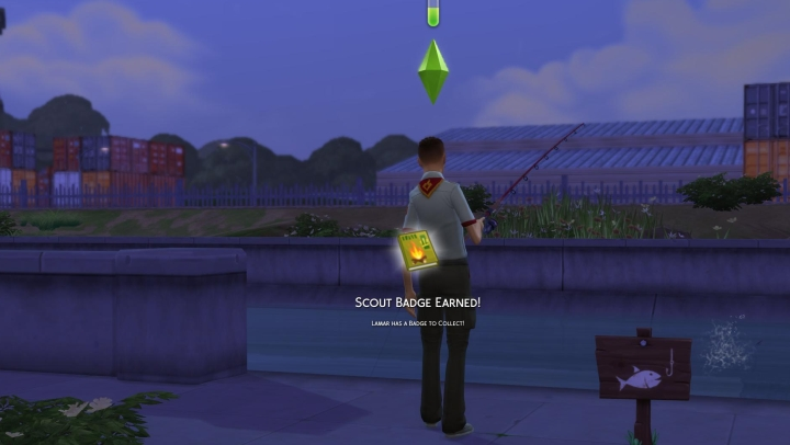 The Sims 4 Seasons Scouting Career Badges And Rewards
