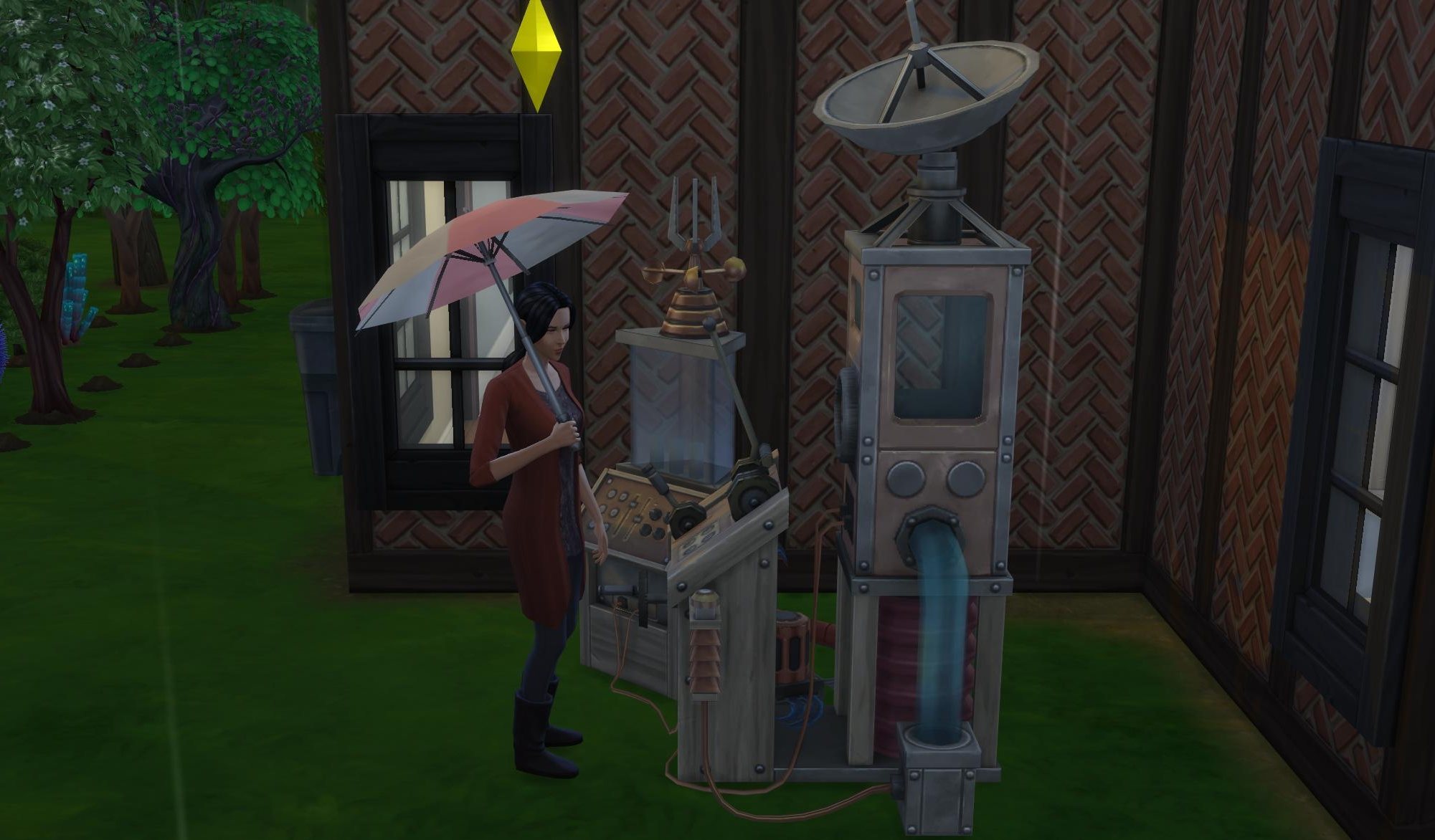 How to change the weather in The Sims 4