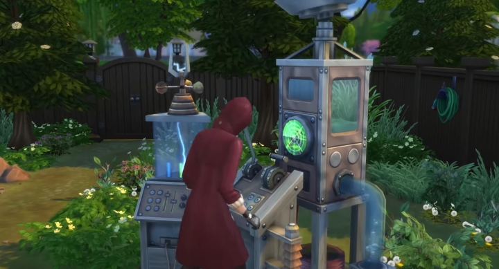 The Sims 4 Seasons: Control the weather with the weather machine!