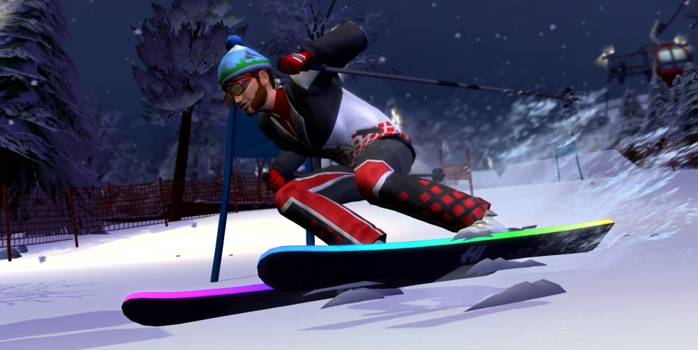 The Sims 4 Snowy Escape Expansion Pack - skiing and other exciting physical activities might be one type of lifestyle