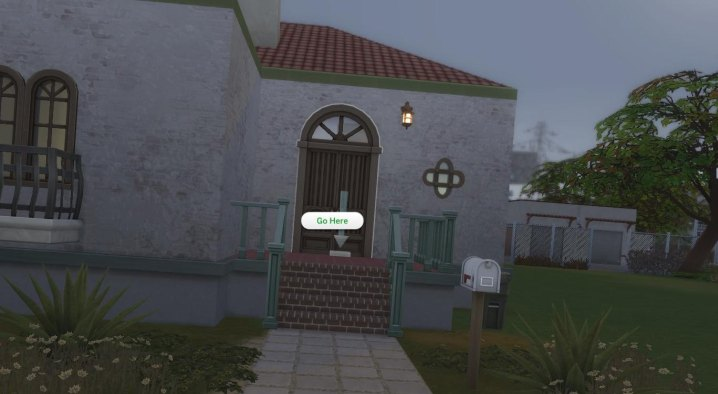 How to walk around doors and walls in The Sims 4 first person camera mode