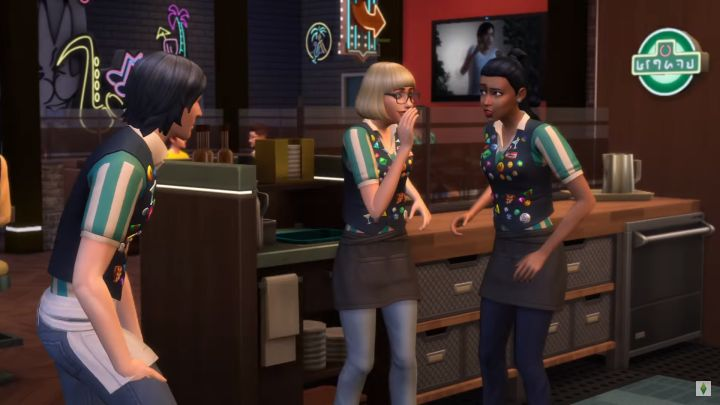 Sims' uniforms will be customizable in The Sims 4 Dine Out Game Pack