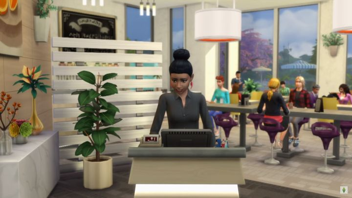 A Sim Greets Group Coming To Restaurant Dine Out