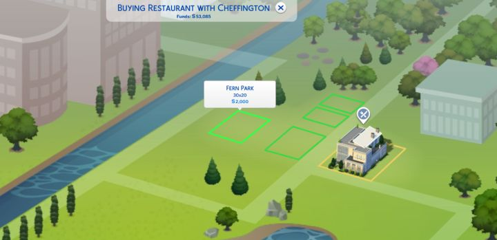 Sims 4 dine out building your own restaurant for How to save to build a house