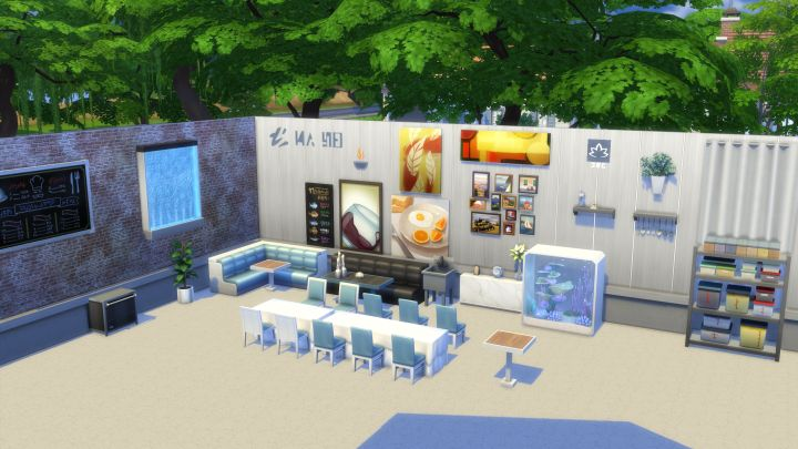 new items in The Sims 4 Dine Out Game Pack