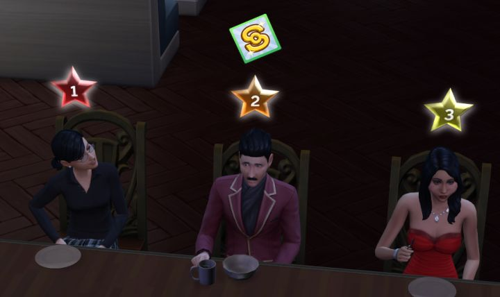 The Sims 4 Dine Out Restaurant Customer Satisfaction