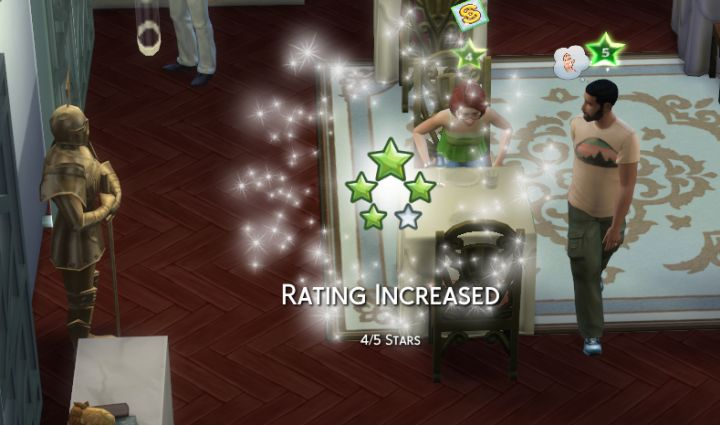 The Sims 4 Dine Out Pack Factors That Determine Restaurant Star Rating