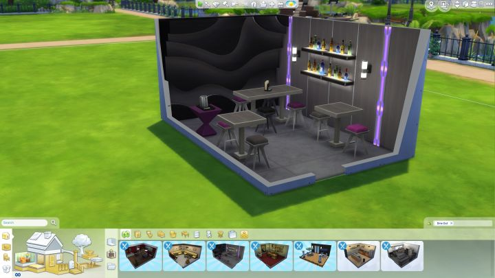 Sims  How To Buy Pre Designed Rooms