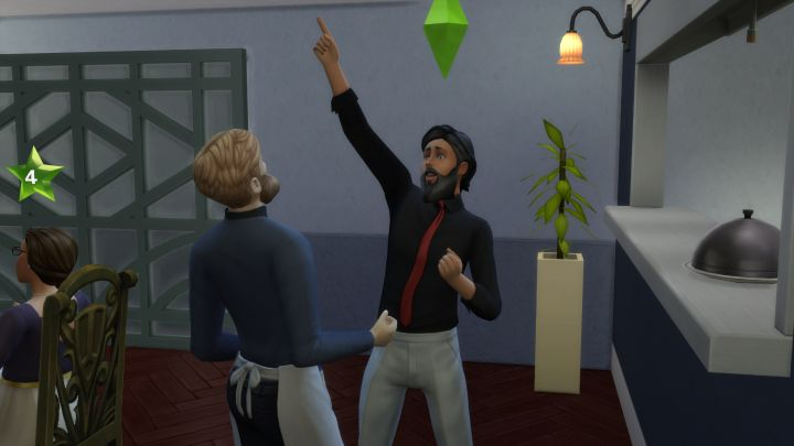 The Sims 4 Dine Out Pack - promote your staff