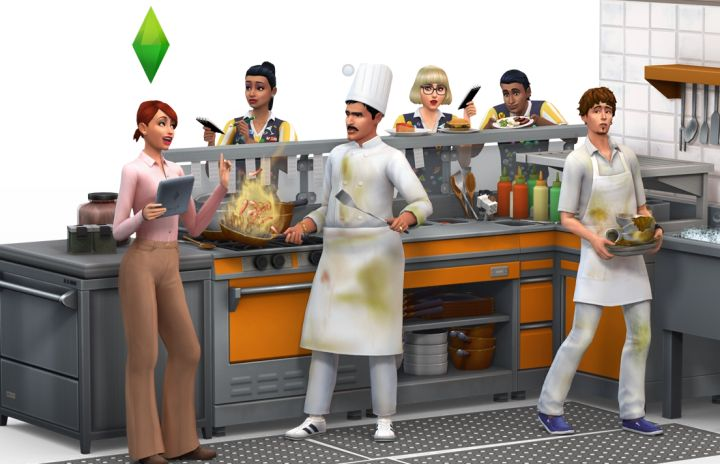 The Sims 4 Dine Out Pack Restaurant Employees