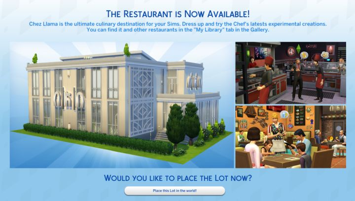 The Sims 4 Dine Out Pack How To Use Restaurants