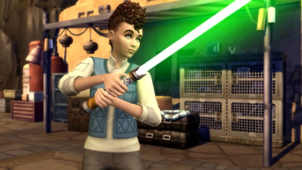 Sims 4 Star Wars Journey to Batuu Game Pack