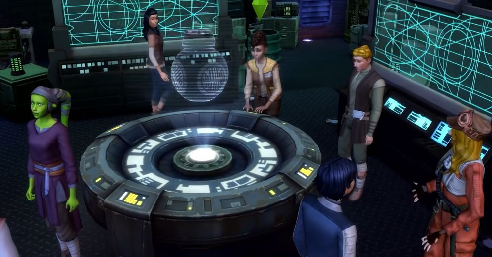 Missions for factions in Sims 4 Star Wars