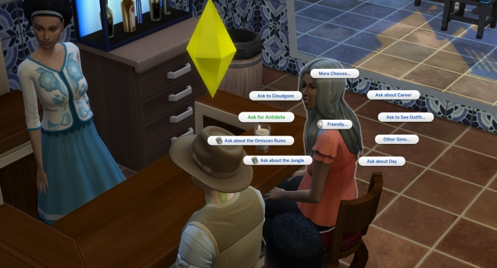 The Sims 4 Jungle Adventure:
