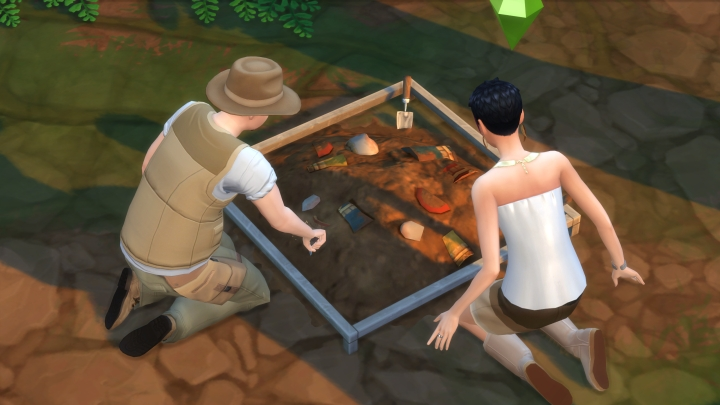 The Sims 4 - Excavating as an Archaeologist