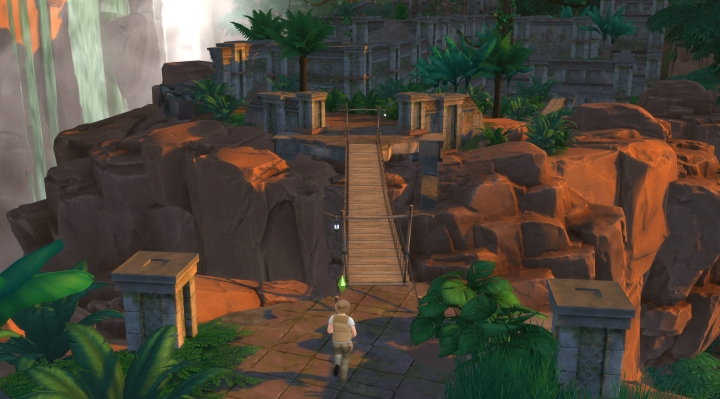 The Sims 4 Jungle Adventure: Exploring deeper into the jungle