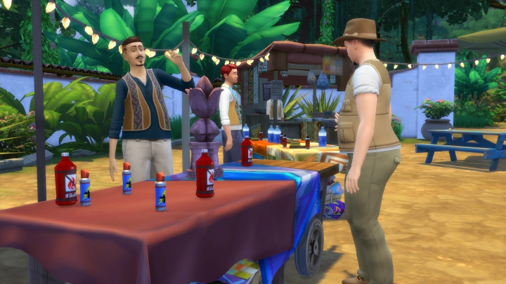 The Sims 4 Jungle Adventure: Where and How to buy supplies for adventuring in the jungle