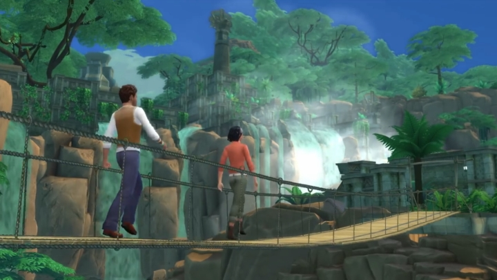 The Sims 4 Jungle Adventure Game Pack: exploring the jungle