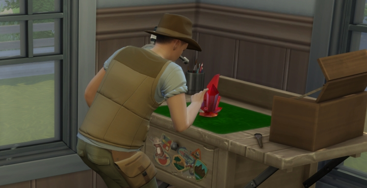 The Sims 4 Jungle Adventure: Refined Crystals