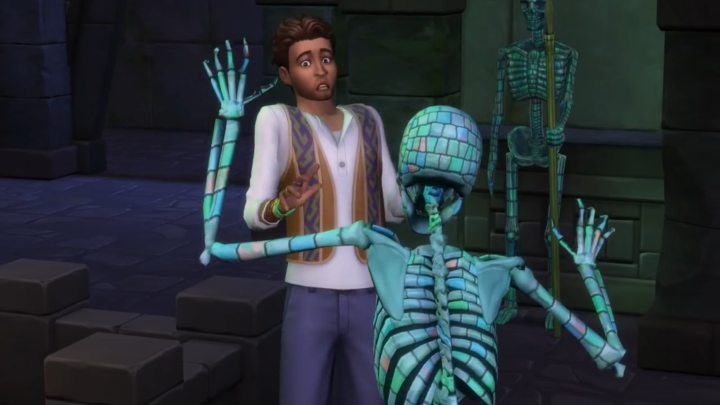 The Sims 4 Jungle Adventure Game Pack: Skeletons