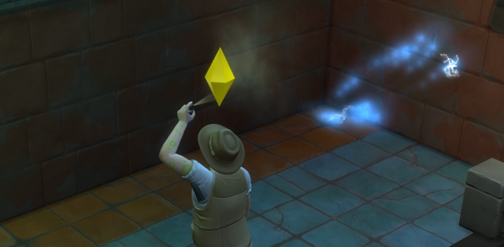 The Sims 4 Jungle Adventure Game Pack: Lightning bugs attack my Sim