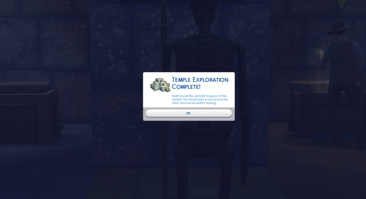 The Sims 4 Jungle Adventure Game Pack: Temple Exploration complete
