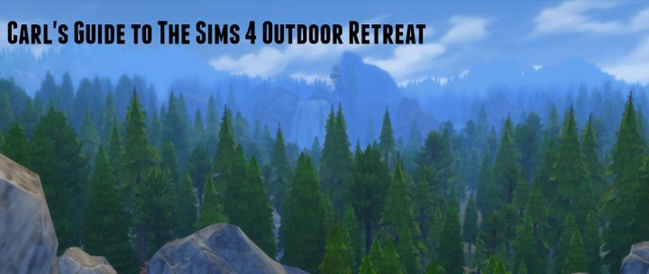 The Sims 4 Outdoor Retreat Game Pack