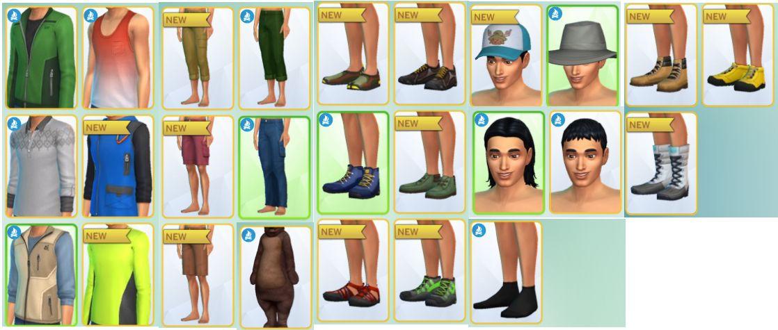 dress sims 4