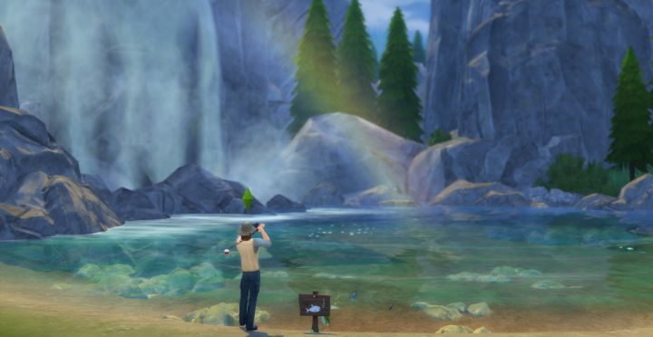 Waterfalls make Great Fishing Spots