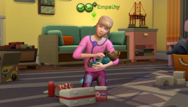 The Sims 4 Parenthood DLC: Empathy Character Values