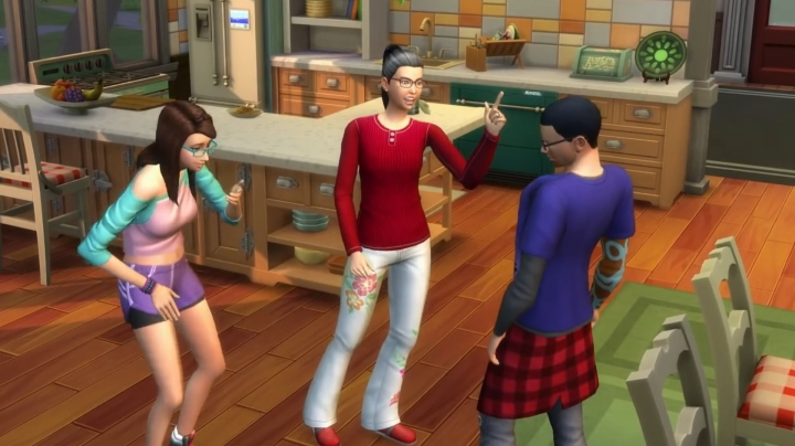 The Sims 4 Parenthood Game Pack: Parenting Skill