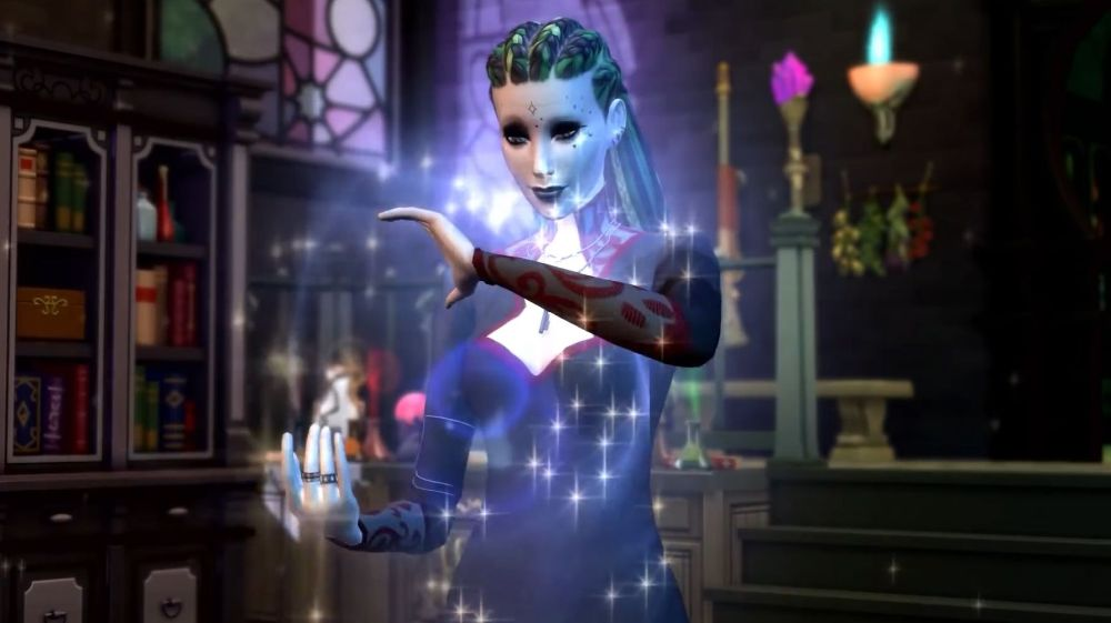 Casting a spell in Realm of Magic