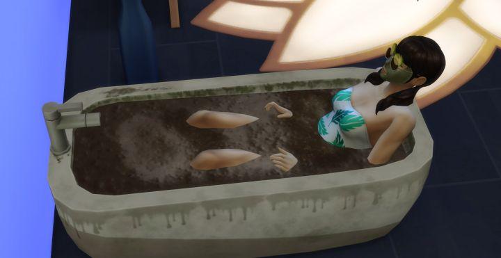 Tied in baths