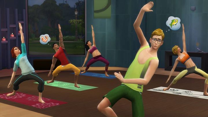 Yoga is a key feature of Spa Day