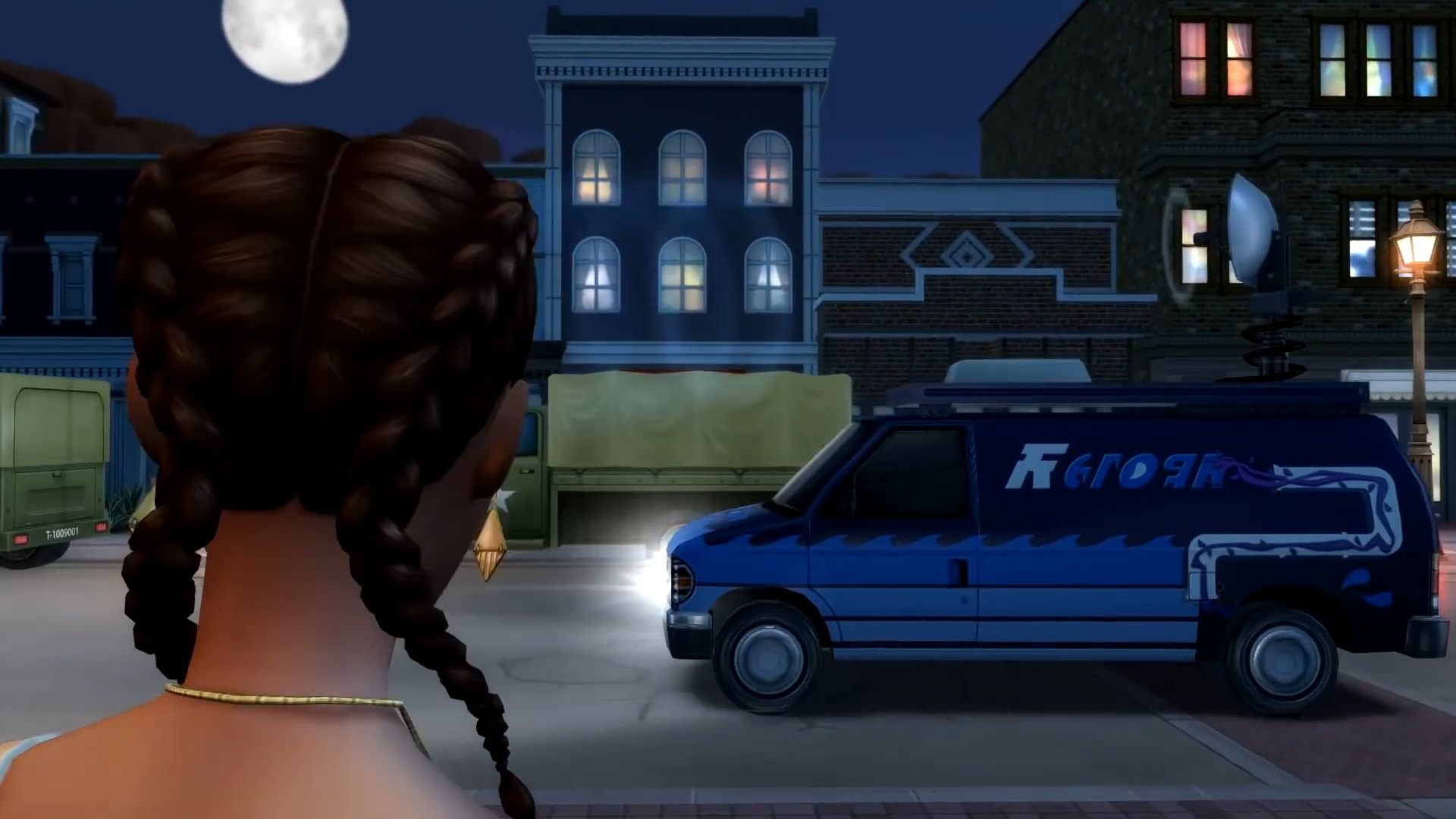 The Sims 4 Strangerville - Government Van - cars are not confirmed in this pack, it is evidently scenery.