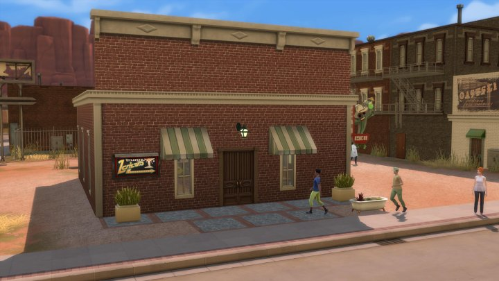 The Bar in The Sims 4 Strangerville Game Pack