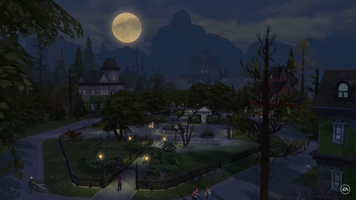 The Sims 4: The new occult world of forgotten hollow is a playable neighborhood