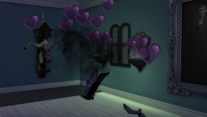 The Sims 4 Vampires - Two Sims woohoo as bats