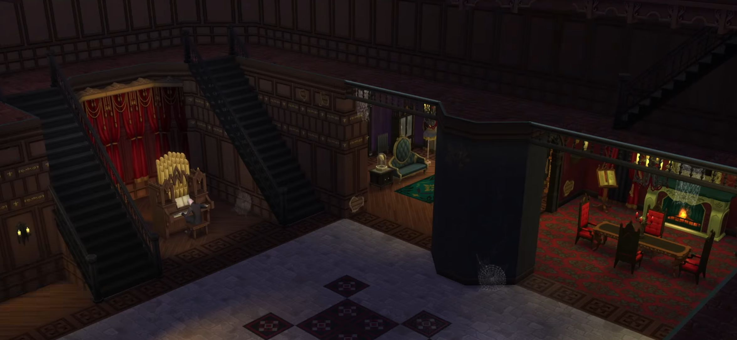 The Sims 4 Vampires Game Pack Guide - Make-your-room-look-like-a-vampires-room