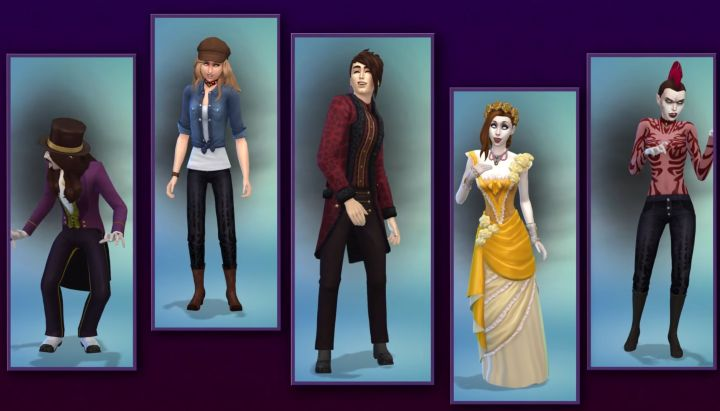 The Sims 4 Vampires: New clothing available to Sims in the game pack